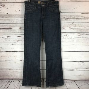 Kut From The Kloth Dark Wash Wide Leg Flare Jeans